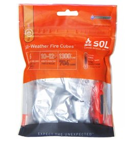 SOL SOL All Weather Fire Cubes-D