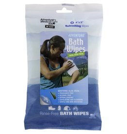 Adventure Medical Kits Adventure® Bath Wipes - Travel Size, Pkg./8