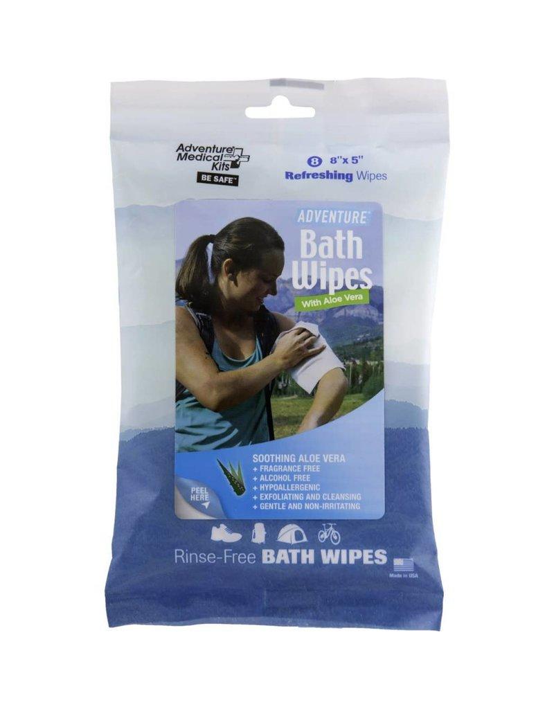 Adventure Ready Brands (Formerly Adventure Medical Kits) Adventure® Bath Wipes - Travel Size, Pkg./8