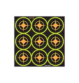 "Allen 15252 Allen EZ See Aiming Dots 2"" Targets 12 Pack-D"