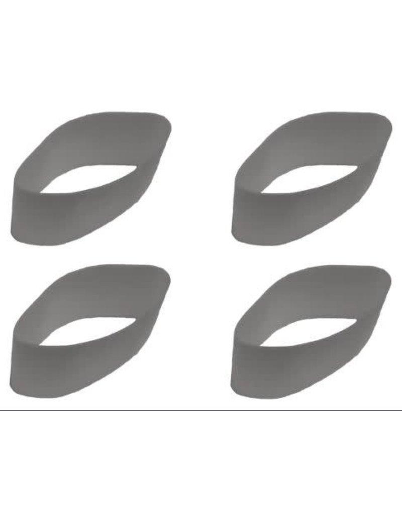 E.L.K. Inc. BANDS - GREY (HI-PITCH) Thin latex wall (Power Bugle, Royal Bugle & Power Howler calls)