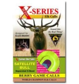 Berry Game Calls X-2 Berry Game Calls Satellite Bull Elk Call from Glen Berry