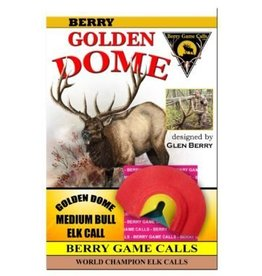 Berry Game Calls Golden Dome Medium Bull Call from Glen Berry