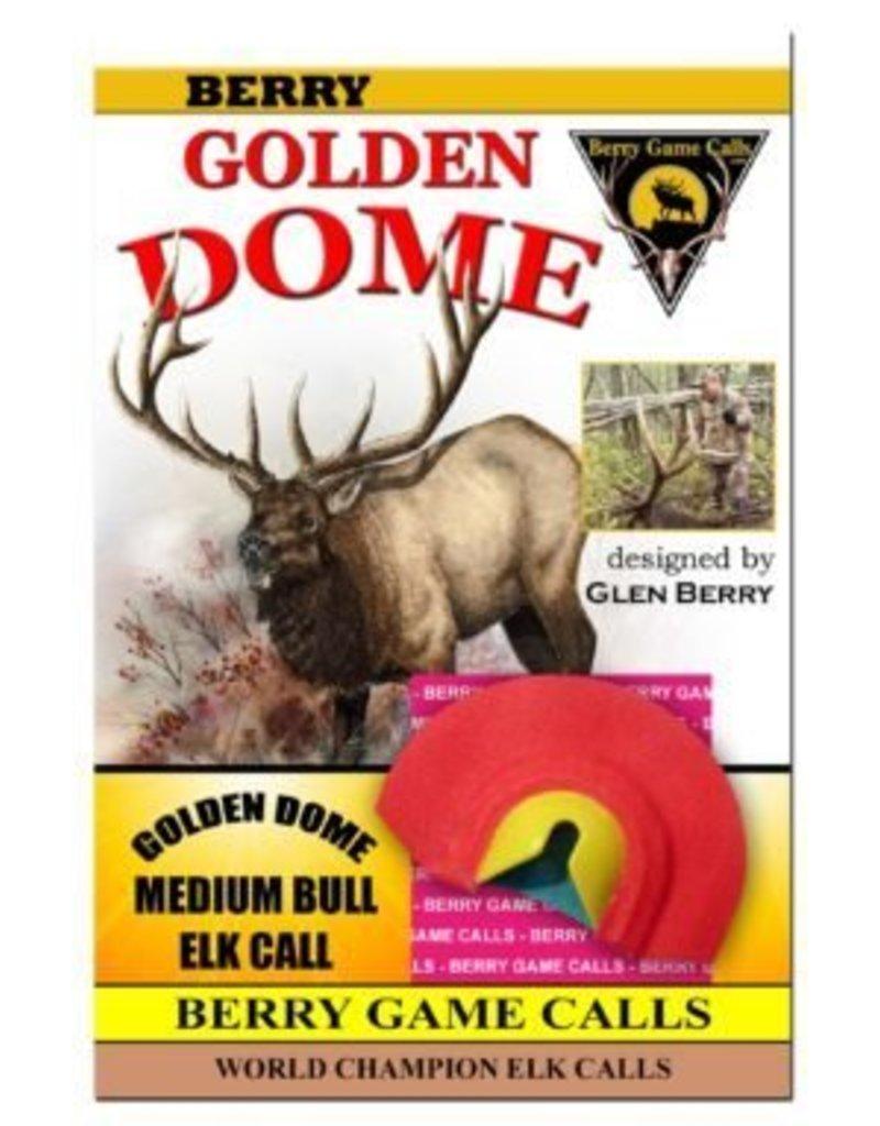 Golden Dome Medium Bull Call from Glen Berry