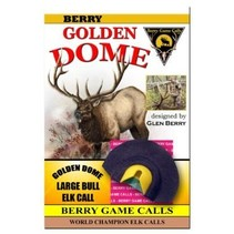 Golden Dome Large Elk Call from Glen Berry