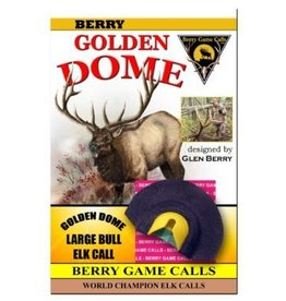 Berry Game Calls Golden Dome Large Elk Call from Glen Berry