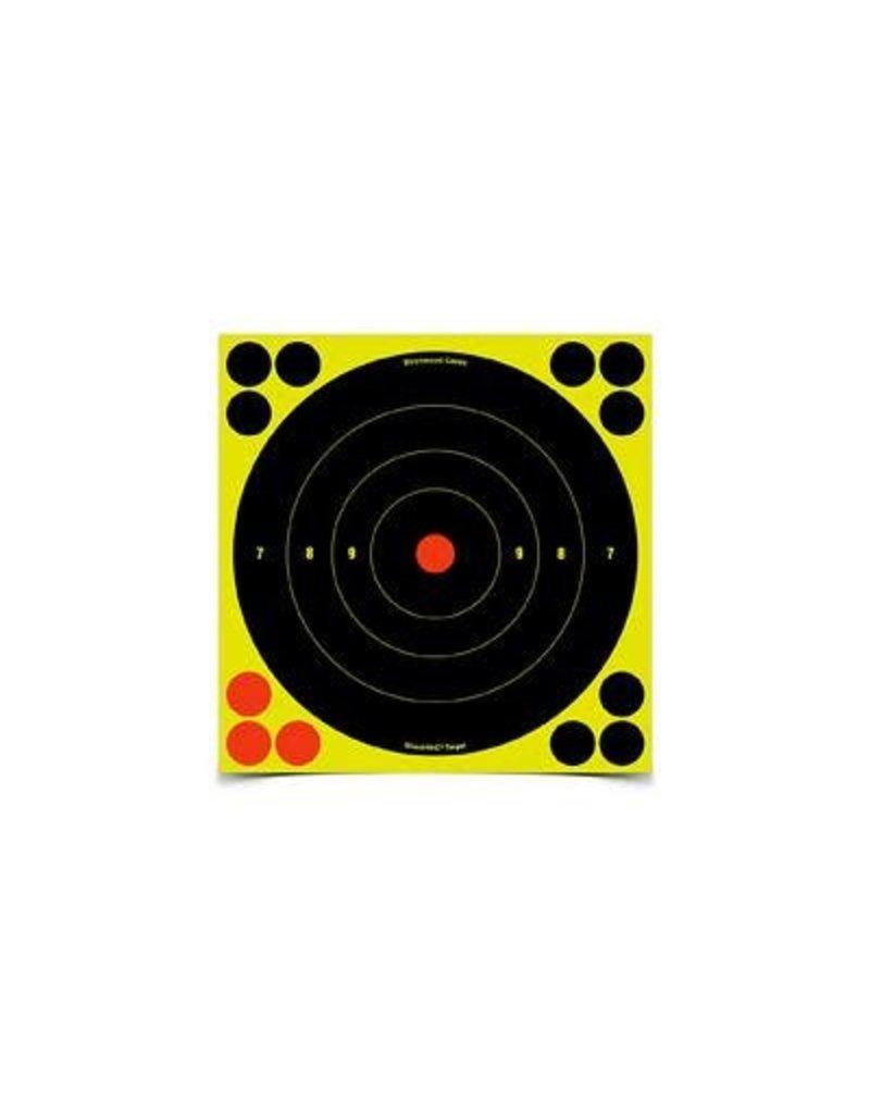 """Birchwood Casey Birchwood Casey 34805 Shoot-N-C 8"""" Bullseye Target 5/Pk"""
