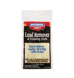 "Birchwood Casey 31002 Birchwood Casey Lead Remover and Polishing Cloth 6"" x 9"""