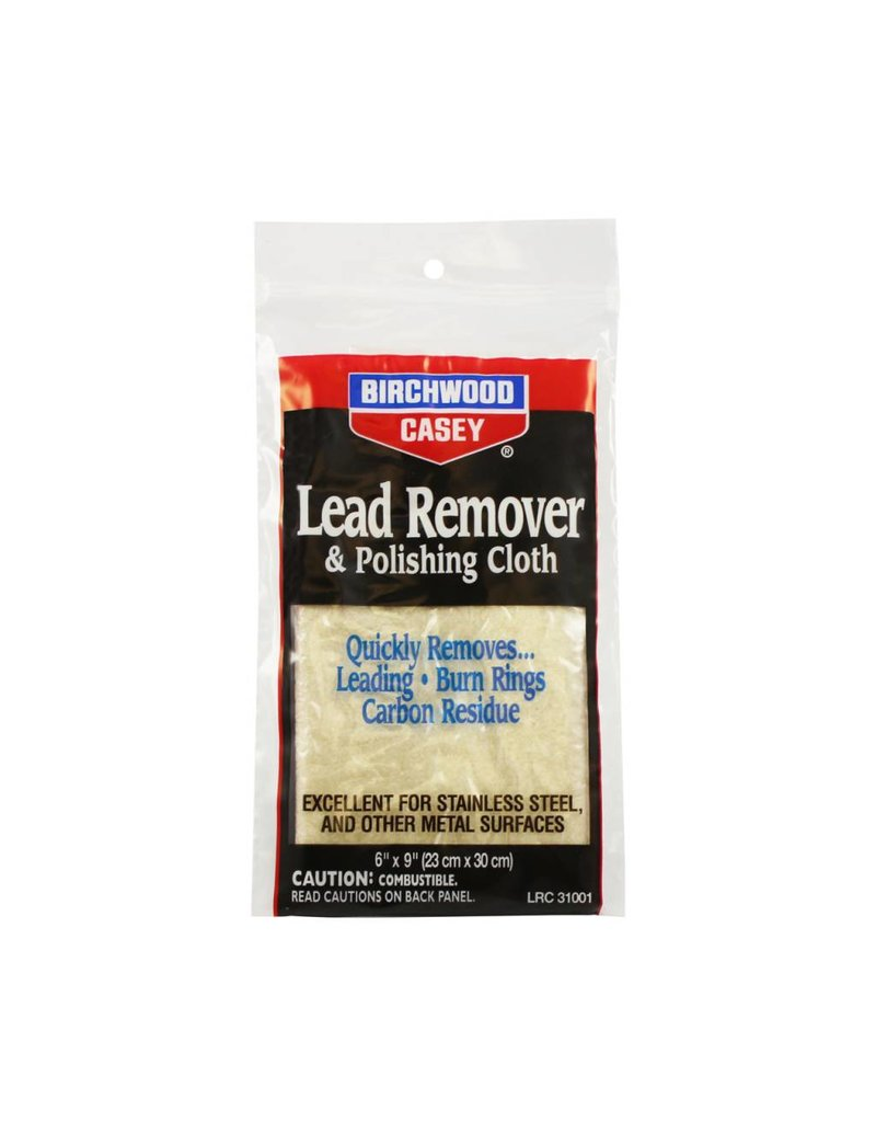 "Birchwood Casey 31002 Birchwood Casey Lead Remover and Polishing Cloth 6"" x 9"""