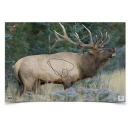 "Birchwood Casey 37485 Birchwood Casey Ez-Scorer 23"" x 35"" Elk - 2 pk folded"