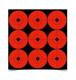 "Birchwood Casey 33902 Birchwood Casey Target Spots 2"" Target 90 ct"