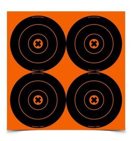 """Birchwood Casey 36612 Birchwood Casey Big Burst 6"""" 12 Bull's-eye Targets - 3 sheets"""
