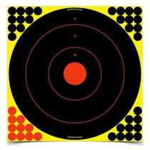 """34185 Birchwood Casey Shoot N C 17.25"""" Bull's-eye Target  5 pack"""