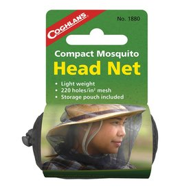 Coghlans Compact Mosquito Head Net-Single
