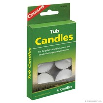 Tub Candles - pkg of 6