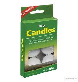 Coghlans Tub Candles - pkg of 6