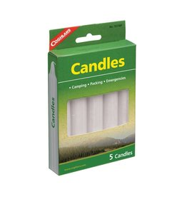 Coghlans Candles - pkg of 5