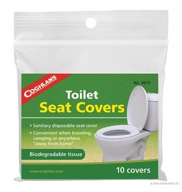 Coghlans Toilet Seat Covers - pkg of 10