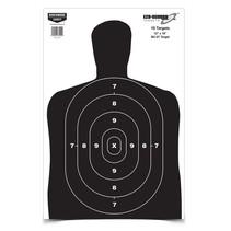 "37202 Birchwood Casey Eze-Scorer 12"" x 18"" BC 27 Black Paper 10 targets"