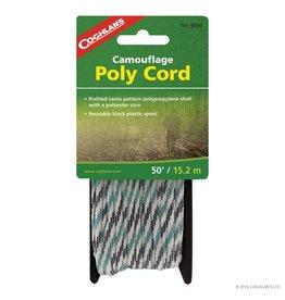 Coghlans Poly Cord - Camo - 50'