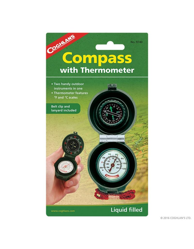 Coghlans Compass Thermometer