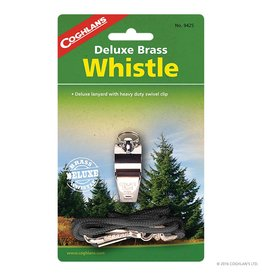 Coghlans Deluxe Whistle - brass
