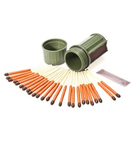 Industrial Revolution UCO Stormproof Match Kit Dk Green
