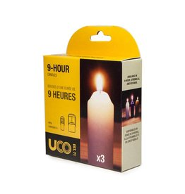 UCO L-CAN3PK CANDLES-PACKAGE OF 3