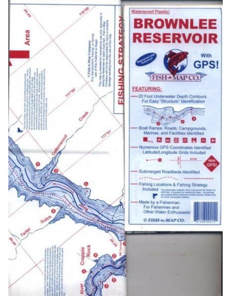 Fish-N-Map Brownlee Reservoir
