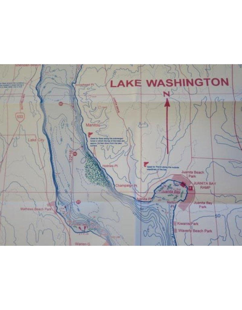 Banks Lake / Lake Washington - UPDATED FEBRUARY 2018