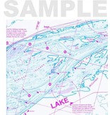 Fish-N-Map Columbia River, Upper (McNary Dam to Bonneville Dam)