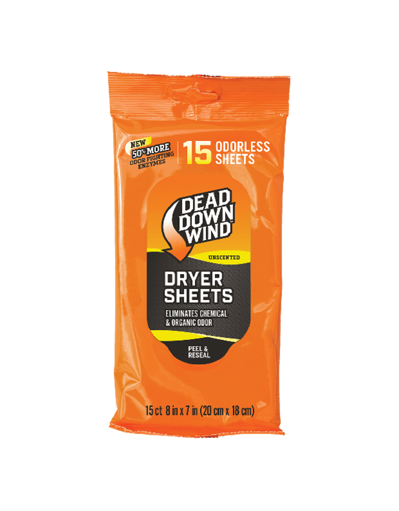 Dryer Sheets 15 Sheet Count
