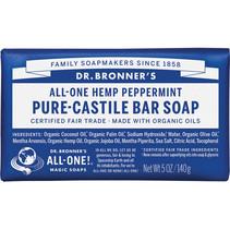 DR. BRONNER'S SOAP(PEPPERMINT BAR SOAP)