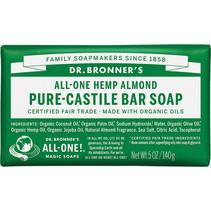 DR. BRONNER'S SOAP(ALMOND BAR SOAP)