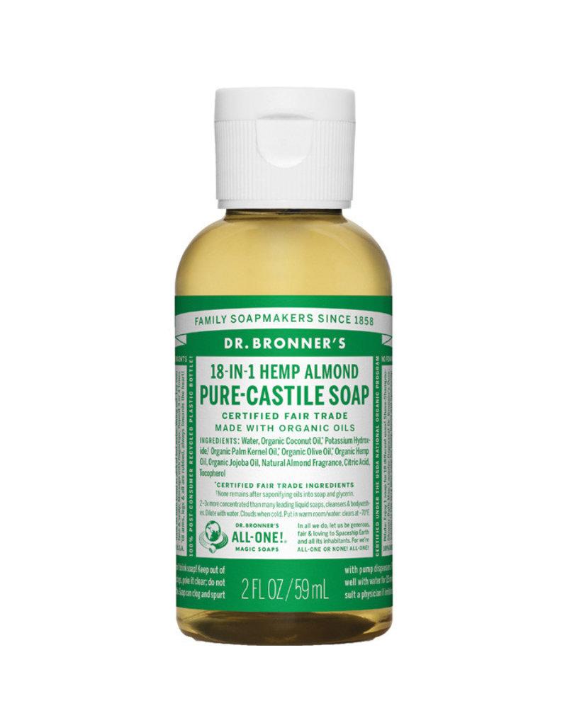 Liberty Mountain DR. BRONNER'S SOAP(ALMOND 2 OZ)