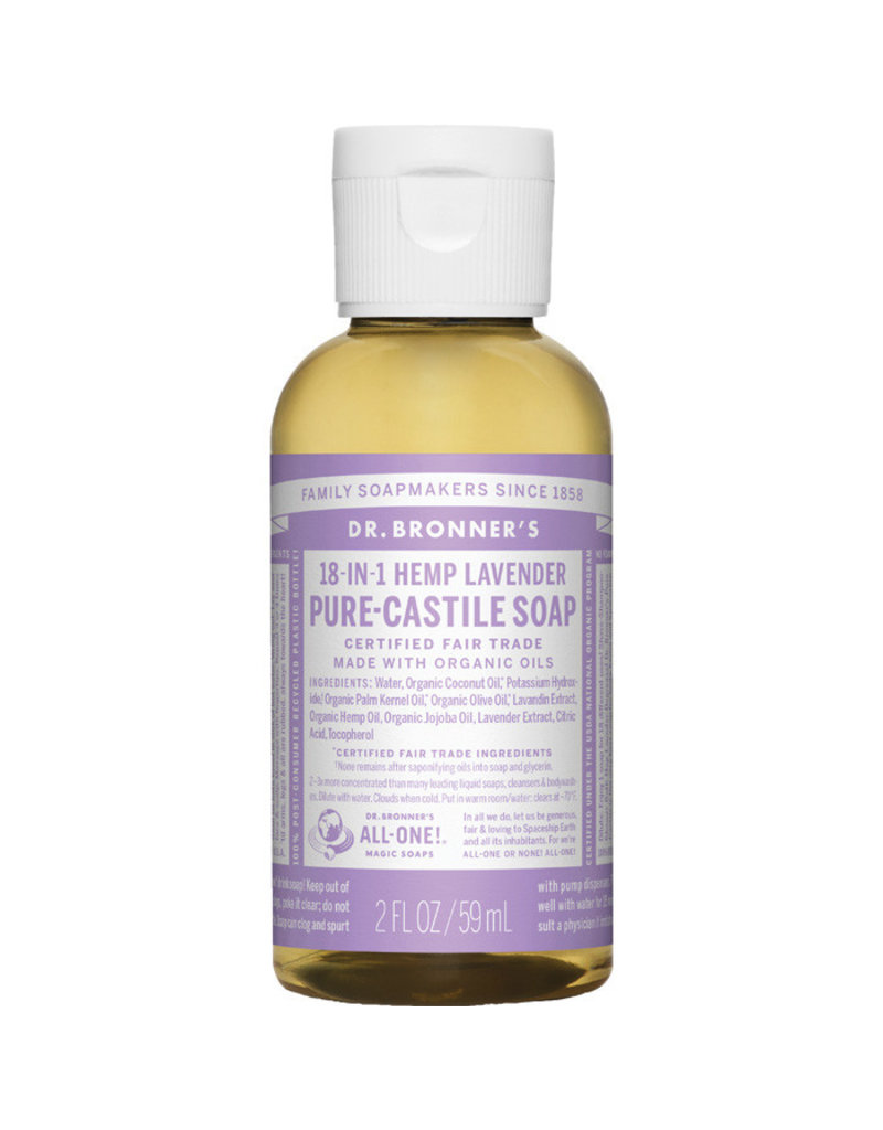 Dr. Bronners DR. BRONNER'S SOAP(LAVENDER 2 OZ)