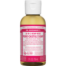 DR. BRONNER'S SOAP(ROSE 2 OZ)