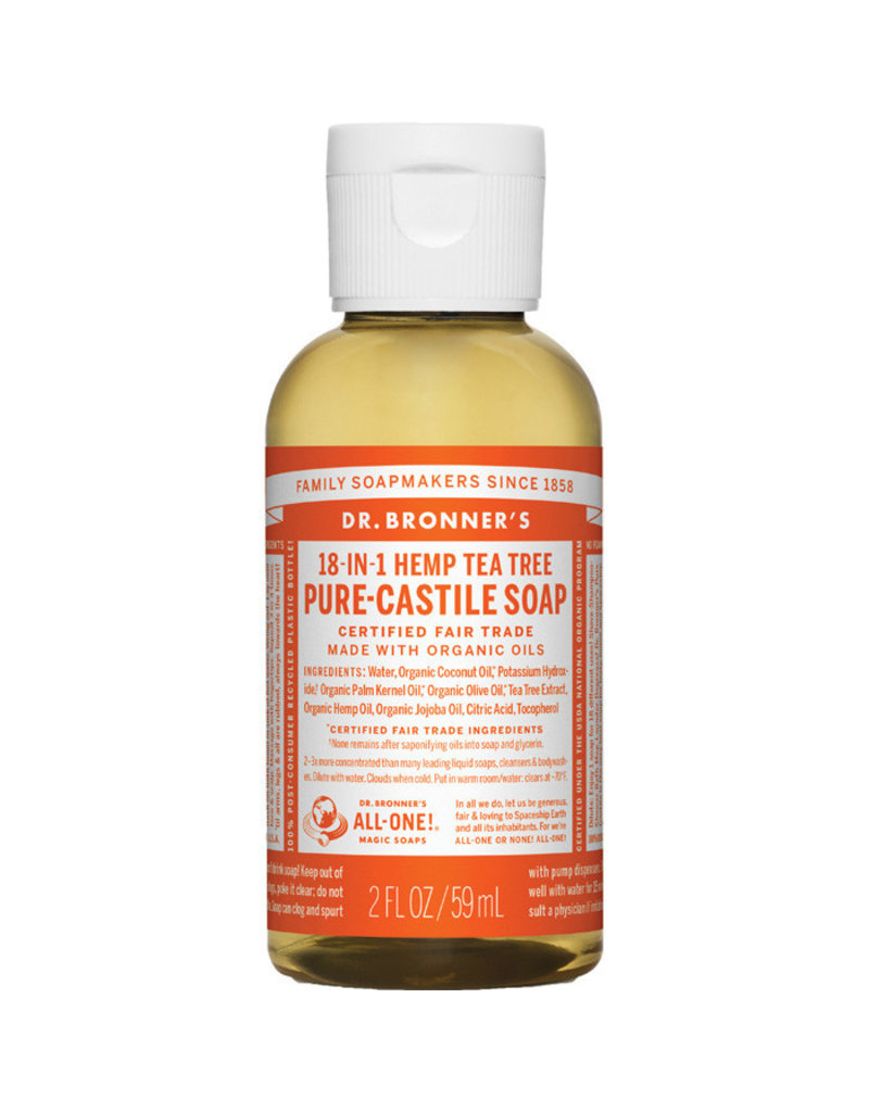 Liberty Mountain DR. BRONNER'S SOAP(TEA TREE 2 OZ)