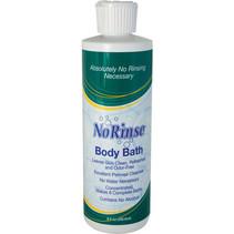 NO-RINSE BODY BATH 8 OZ NO RINSE
