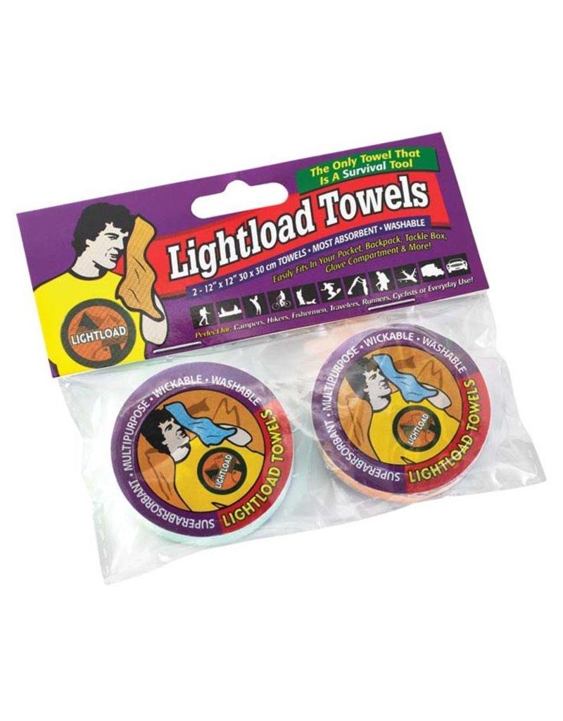 Liberty Mountain LIGHTLOAD TOWELS(LIGHTLOAD MINI 2PK)