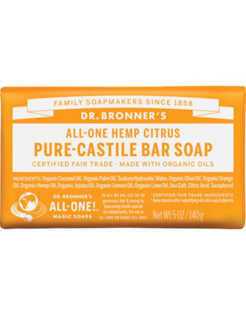 Dr. Bronners CITRUS BAR SOAP DR. BRONNER'S