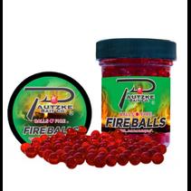 Pautzke PFBLS/RD/GLT Fire Balls 1.65oz, Red/Glitter