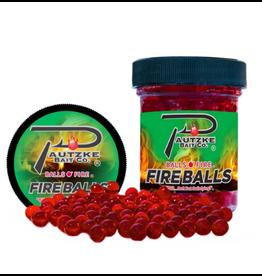 PAUTZKE FIRE BALLS EGGS,RED/GLITTER