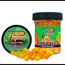 Pautzke PFBLS/GLD/GAR Fire Balls 1.65oz, Gold/Garlic