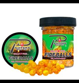 Pautzke Bait Company Inc Pautzke PFBLS/GLD/GAR Fire Balls 1.65oz, Gold/Garlic
