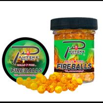 Pautzke PFBLS/GLD/SHR Fire Balls 1.65oz, Gold/Shrimp