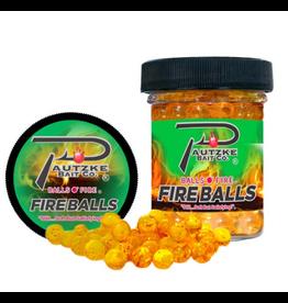 Pautzke Bait Company Inc Pautzke PFBLS/GLD/SHR Fire Balls 1.65oz, Gold/Shrimp