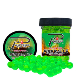 Pautzke Bait Company Inc Pautzke PFBLS/CHT/ANS Fire Balls 1.65oz, Chartreuse/Anise