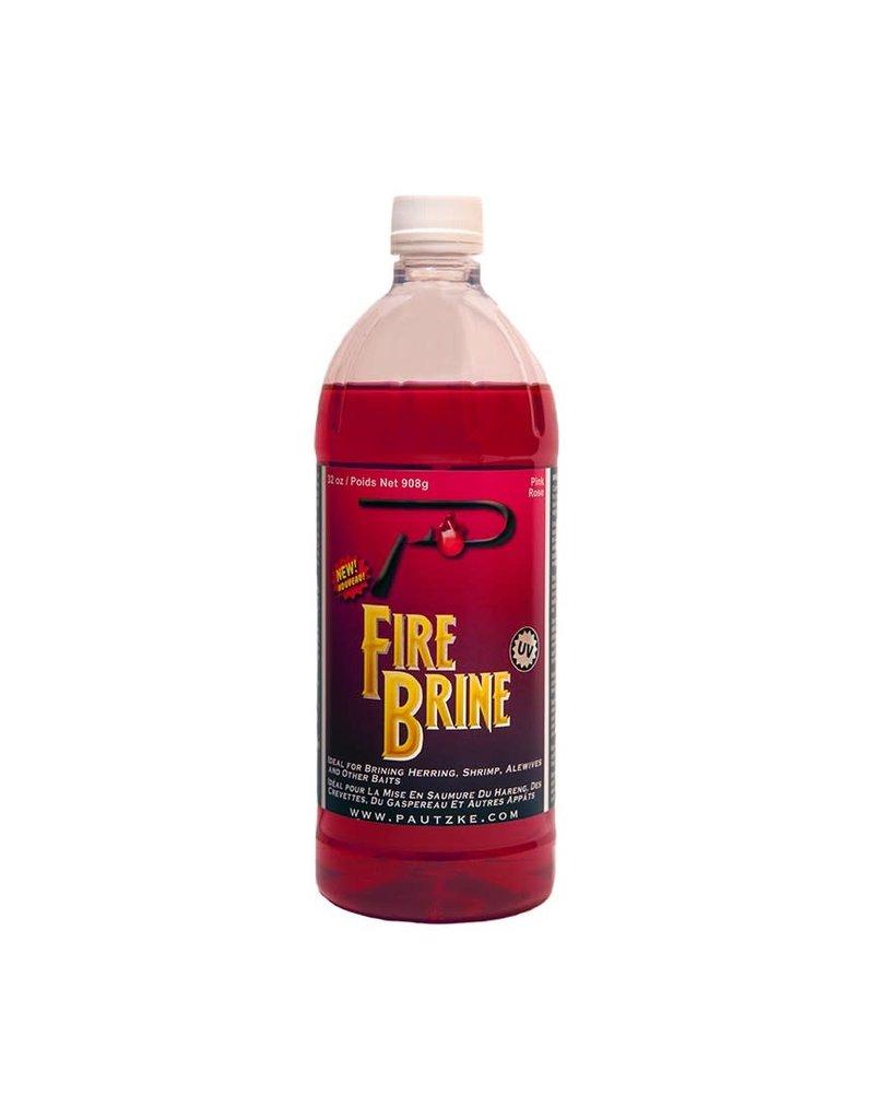 Pautzke PFBRINE/PNK Fire Brine Egg Cure, 32 oz, Pink