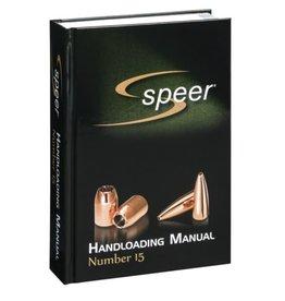 SRM15 Speer Reloading Manual #15 (8cs)